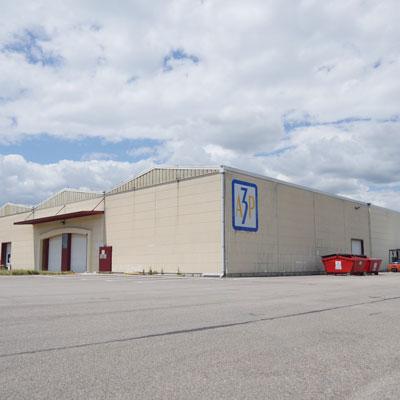 bâtiment usine A3P